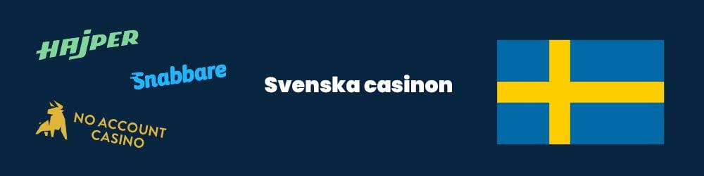 Svenska casino hos Casinogringos.com