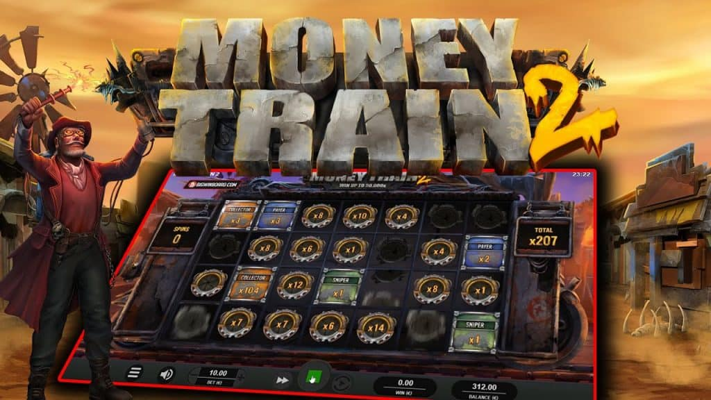Spelare vann storvinst på sloten money train 2
