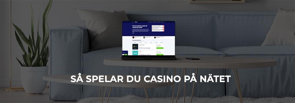 Hur spelar man casino på nätet?
