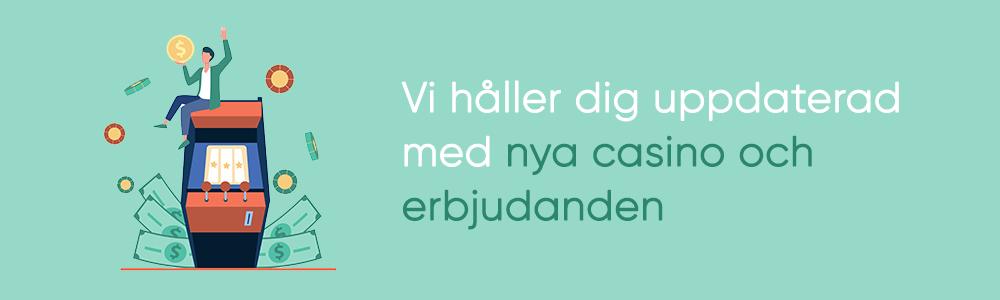 Hitta nya casinon hos Casinogringos.se