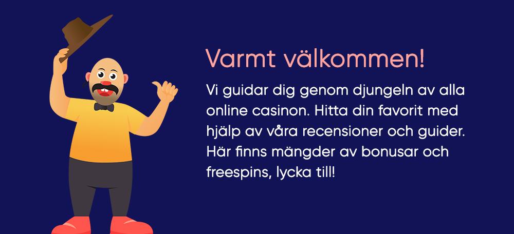 Hitta rätt casino på nätet med casinogringos.se